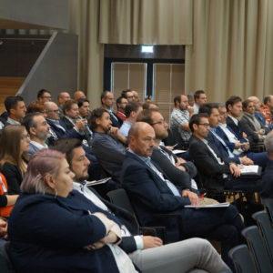 Aktuelle Entwicklungen bei ERP-Systemen und Herausforderungen bei der Digitalisierung waren bei der Fachtagung ERP Future 2018 in Linz zentrales Thema.(Foto: Andreas Hagn/Universität Innsbruck)