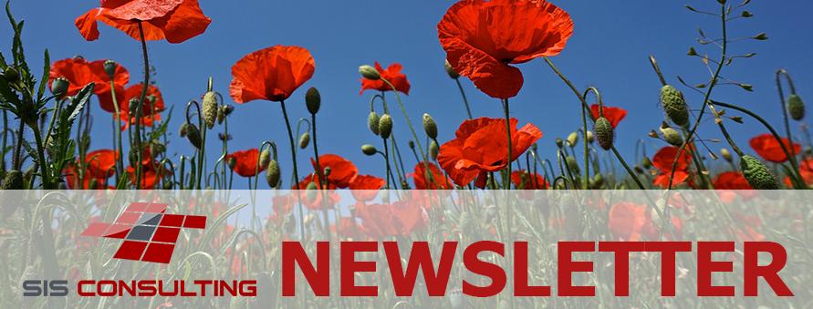 SIS Newsletter Header_Mohnblumen